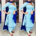 mqdefault 536 150x150 - Plain Punjabi Suit With Contrast Dupatta || Latest Plain Suit || Punjabi Suits