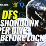 mqdefault 317 150x150 - NFL DFS Showdown Deeper Dive & Live Before Lock MNF Week 1 Ravens-Raiders   Monday 9/13